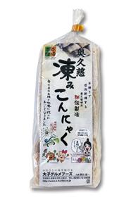 奥久慈凍みこんにゃく(9枚入)商品画像